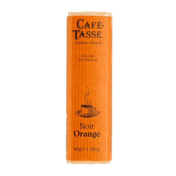 Café-Tasse белгийски шоколад-тъмен с портокал